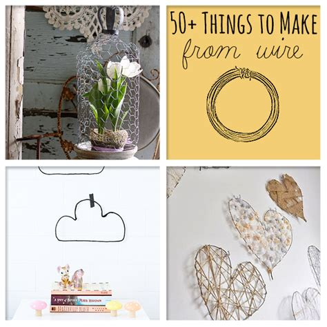 wire craft projects 50 awesome things to make from wire