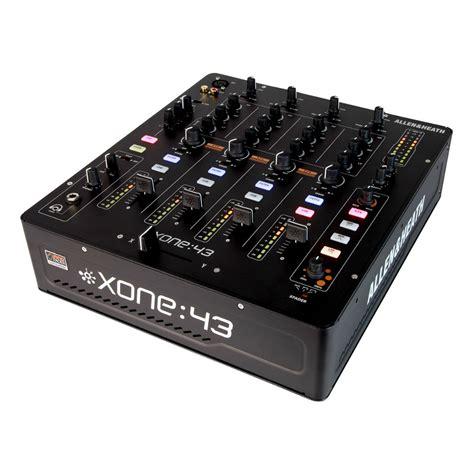 Mixer Allen Heath 4 Channel allen heath xone 43 4 channel analogue dj mixer