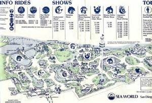 theme park brochures sea world san diego theme park