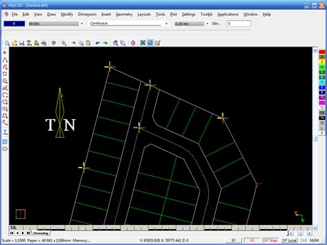 land layout design software free allycad professional cad design software