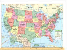 us map in world notebook map u s world laminated 012760 details
