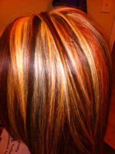 hair foil color ideas foils red brown and blonde hair barbara wolfe tucker
