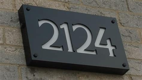 lighted house number sign led illuminated house number signs ingeflinte com