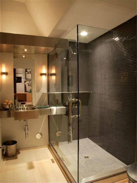 steel shower bath stainless steel bathroom sink houzz