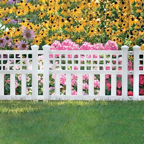 Garden Border Fence Ideas Garden Border Fencing Home Design Ideas