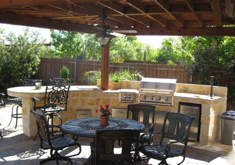 Patio Kitchen Designs Outdoor Kitchens By Premier Deck And Patios San Antonio Tx