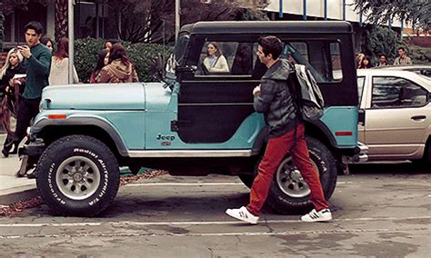 A Of Our Own Exiting A Jeep The Stilinski Way