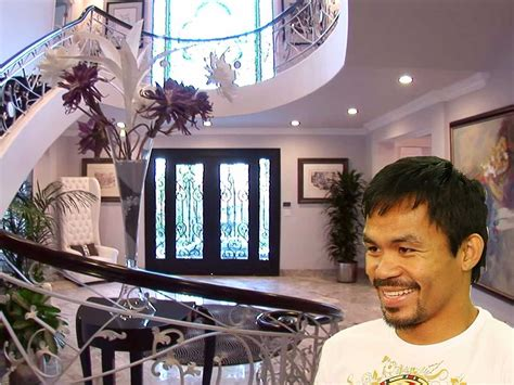 mayweather house tour manny pacquiao bought a beverly hills mansion for 12 5