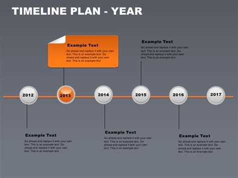 free powerpoint templates timeline timeline plan year free powerpoint charts