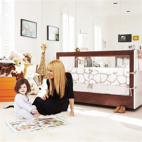 elle decor celebrity homes celebrity nurseries nursery decorating ideas