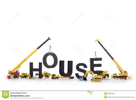 house synonym house under construction machines building house stock images image 29361044