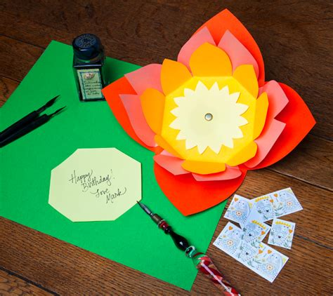 Handmade Envelope Decoration - how to make paper envelopes the crafty stalker