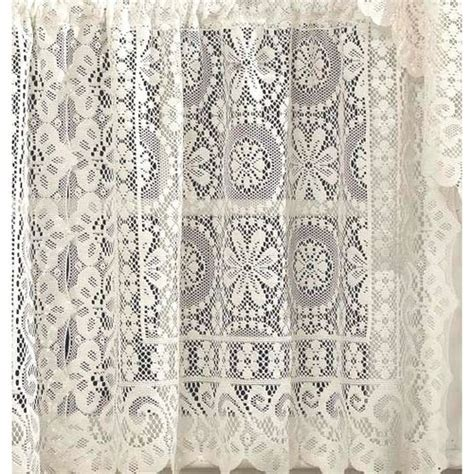 damask lace curtains better homes and gardens lace damask curtain panel cream