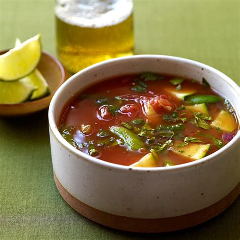 Mexican Inspired Vegetable Soup Recipes Weight Watchers Weight Watchers 0 Point Soup Garden Vegetable