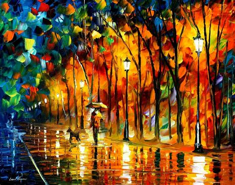 best paints leonid afremov oil on canvas palette knife buy original
