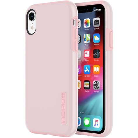 incipio dualpro for iphone xr raspberry iph 1748 rbi