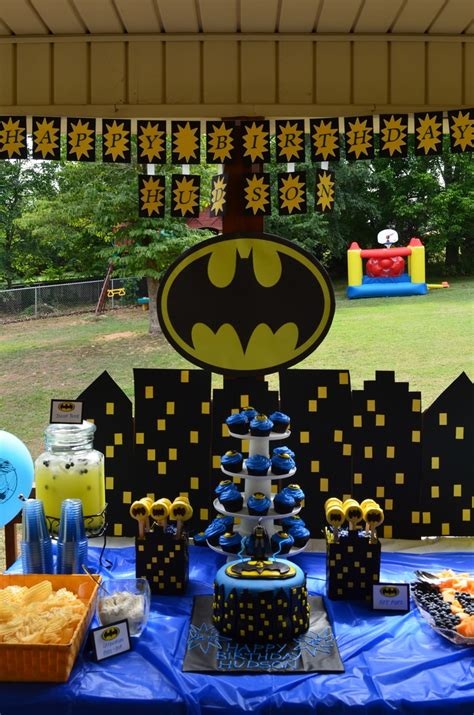 batman party ideas batman batman party  parties