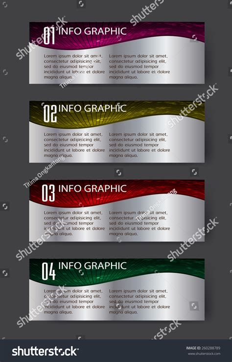 Add Website Text Box To Business Card Template In Word by Colorful Modern Text Box Template Website Stock Vector