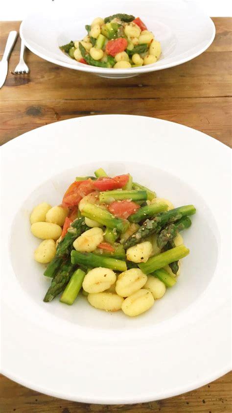 cuisiner gnocchi cuisiner bien gnocchi mit spargel