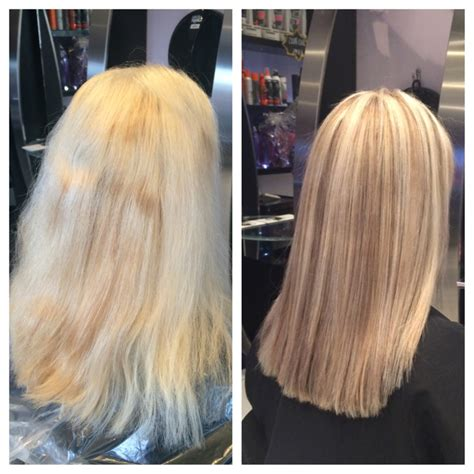 toner after bleaching copper hair hair toner for highlights before and after dark brown hairs