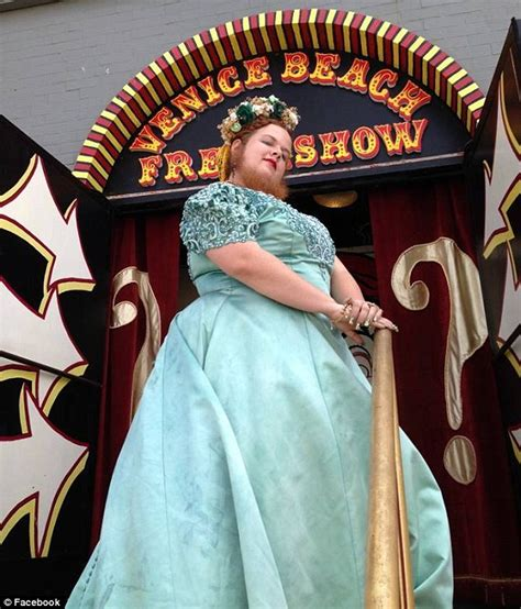 bearded lady freak show jessa bearded lady with record breaking facial hair joins cast