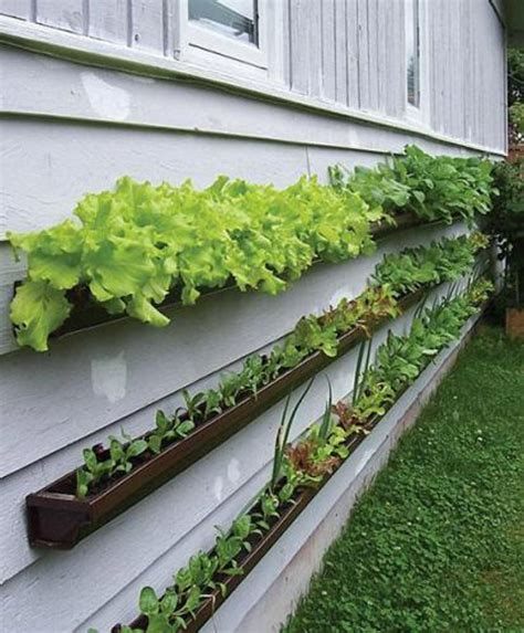 how to use gutters as a gardening planter ct gutter