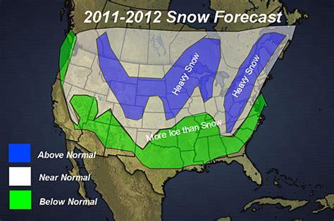 snow forecast map snowfall forecast map for 2011 2012 ny ski