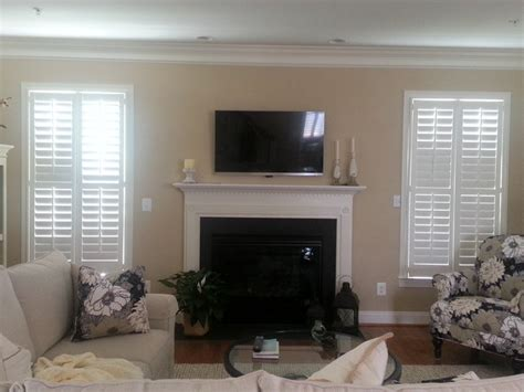 living room shutters plantation shutters in family room traditional living