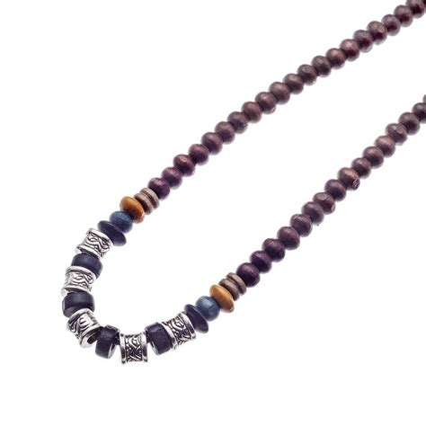 mens wooden beaded necklaces 119 best s necklaces by images on
