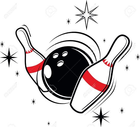 clipart bowling bowling clipart vector pencil and in color bowling