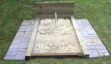 building a horseshoe pit in backyard building a horseshoe pit in backyard how to build