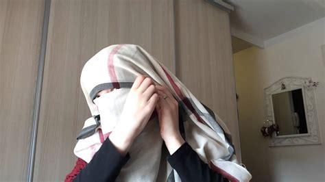 niqab tutorial 2014 niqab tutorial maximum skin cover eyebrow cover