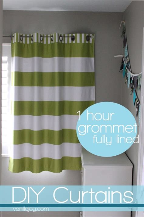 how to make drapes with lining 50 diy curtains and drapery ideas page 5 of 10 diy joy
