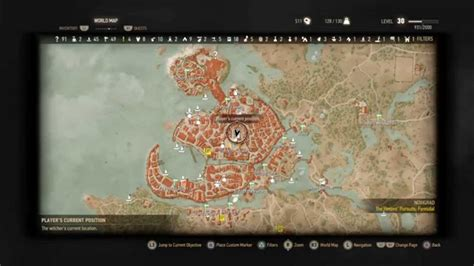 golden sturgeon witcher 3 map the witcher 3 golden sturgeon location where to buy