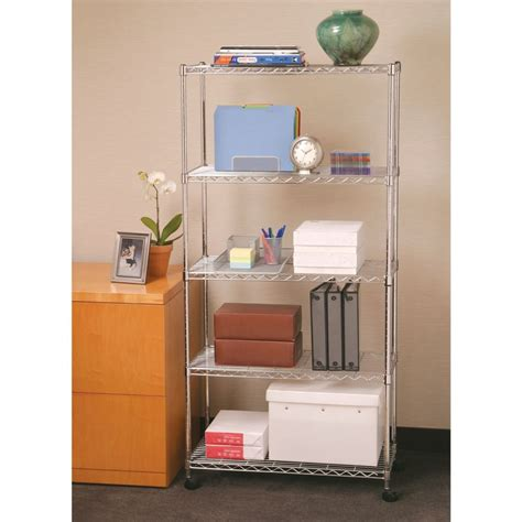 On A Shelf Free Shipping by Seville Classics 5 Shelf Home Style Storage System Shipping Is Free