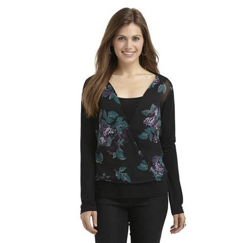 60 layered look for women metaphor women s layered look top floral