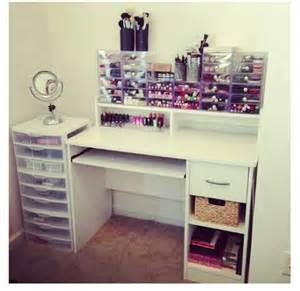 Makeup Desk Organization Ideas The World S Catalog Of Ideas