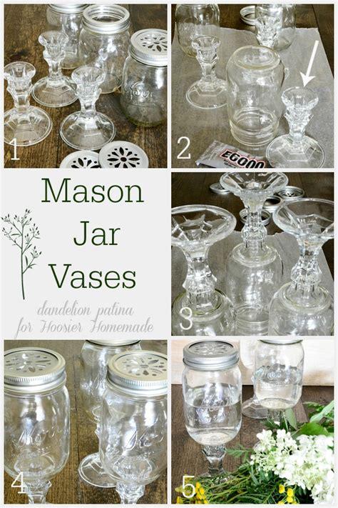 Make Your Own Vase by Diy Jar Vases Hoosier