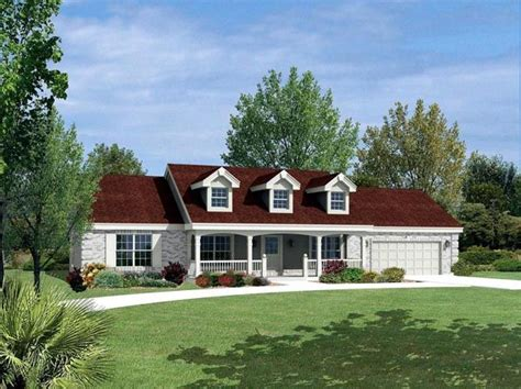 cape cod ranch house plans cape cod country ranch house plan 87805