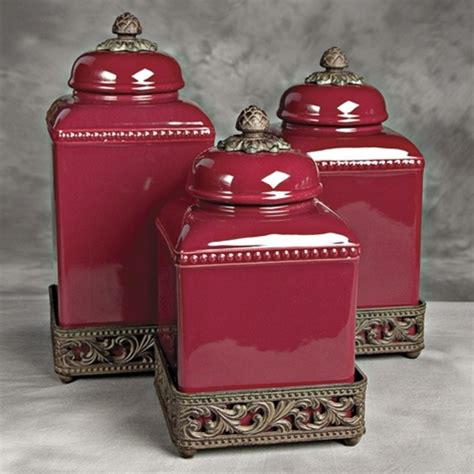 burgundy kitchen canisters burgundy kitchen canisters rapflava