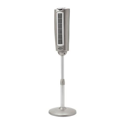 lasko oscillating tower fan shop lasko 52 in 3 speed oscillating tower fan at lowes com