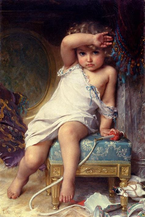 The Broken Vase emile munier the broken vase painting 50