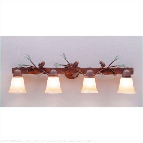 pine cone vanity lights lakeside bath vanity light pine cone rustic