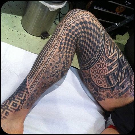 full leg tattoos 12 leg designs images and pictures