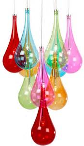 coloured glass pendant lights multi coloured glass 10 light stacked chrome pendant niro