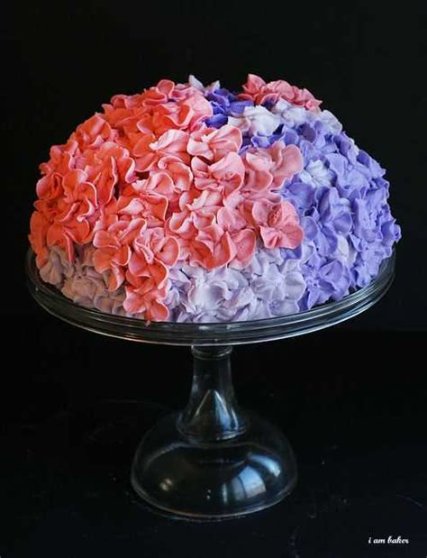 hydrangea cake cake ideas flowers and gardening torte the blog