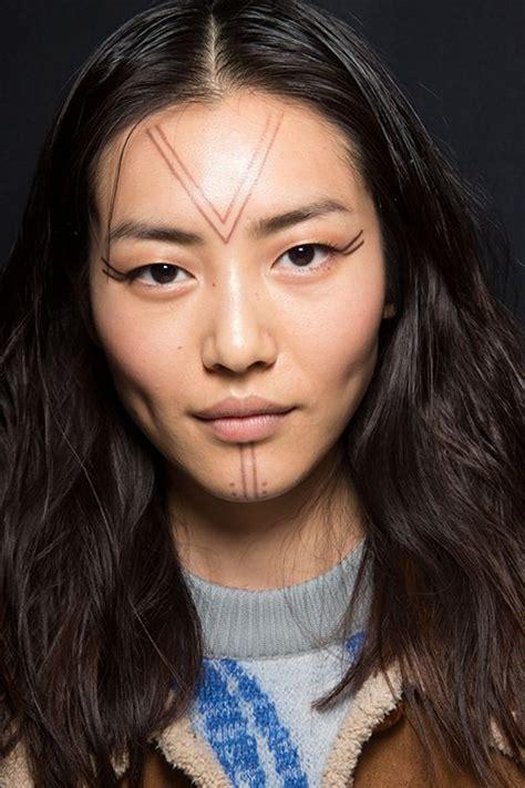 inuit face tattoos 41 best eskimo images on