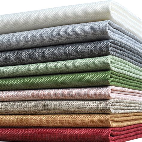 cutting fabric for curtains aliexpress com buy 50x145cm colorful linen fabric cheap