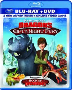 dvd blu ray release dreamworks dragons gift night fury movie views