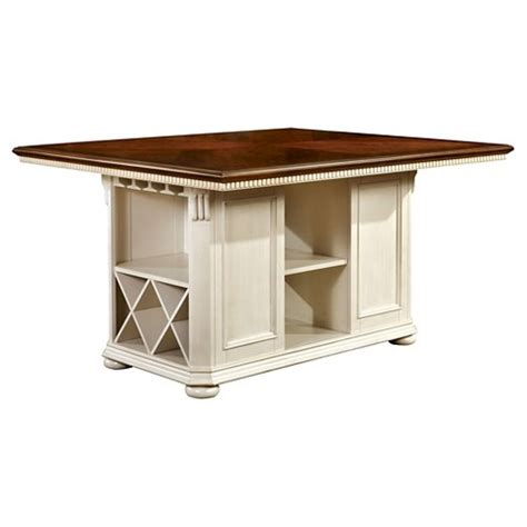 counter height table with storage martha country storage counter height table ch target